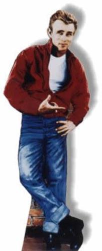 James Dean-Red Jacket Cardboard Standee