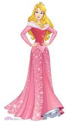 Aurora - Disney Princess Cardboard Cutout Standup Prop
