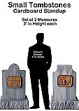 Tombstone Small Set Cutout Standup Prop
