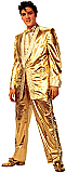 Elvis Gold Tuxedo (Talking) - Elvis Cardboard Cutout Standup Prop