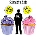 Cupcakes Cardboard Cutout Standup Props
