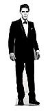 Elvis Black Tuxedo - Elvis Cardboard Cutout Standup Prop