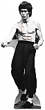 Bruce Lee With Cuts - Bruce Lee Cardboard Cutout Standup Prop
