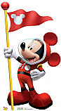 Mickey In Space - Mickey Mouse Clubhouse Cardboard Cutout Standup Prop