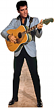 Elvis Light Blue Jacket - Elvis Cardboard Cutout Standup Prop